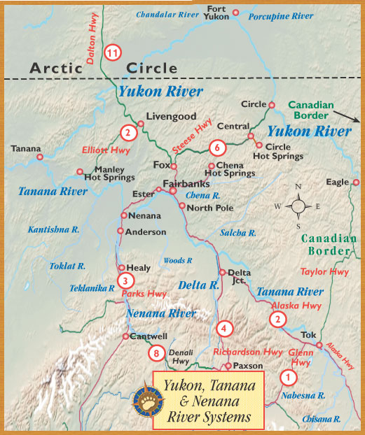 Travel North to Arctic Alaska with BEARFOOT Guides  Central
