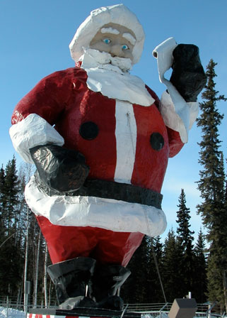 Travel to north pole alaska with bearfoot guides explore a town north pole santa spiritdancerdesigns Image collections