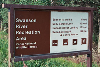 swanson river canoe trails